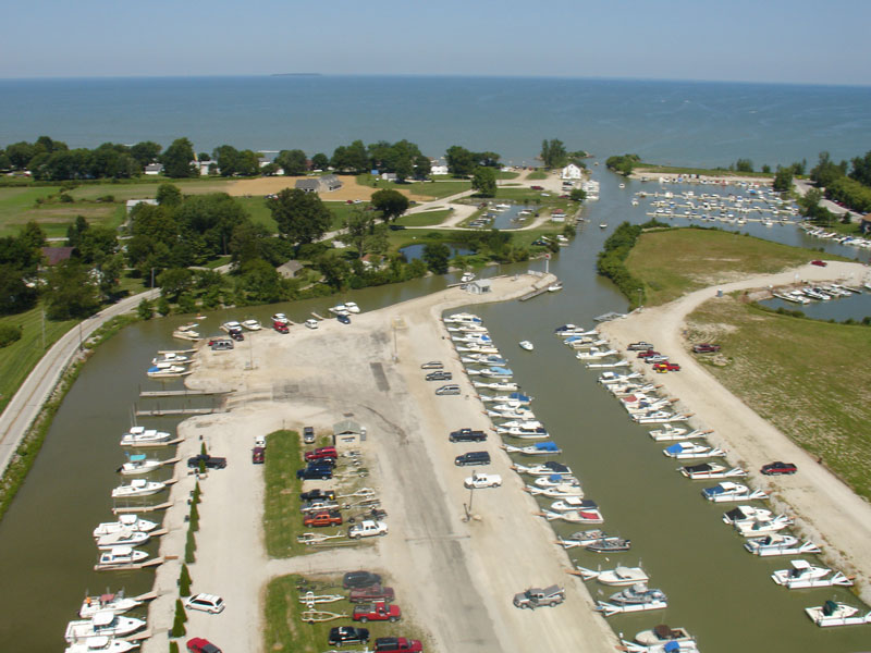 Wild Wings Marina Aerial View